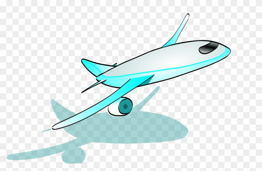 Plane Taking Off Clip Art At Clker Com Vector Online - Plane Taking Off Clip Art At Clker Com Vector Online #1619