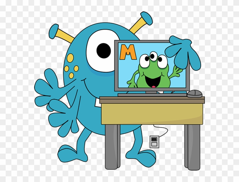 Monster With A Computer - Monster With A Computer #1643