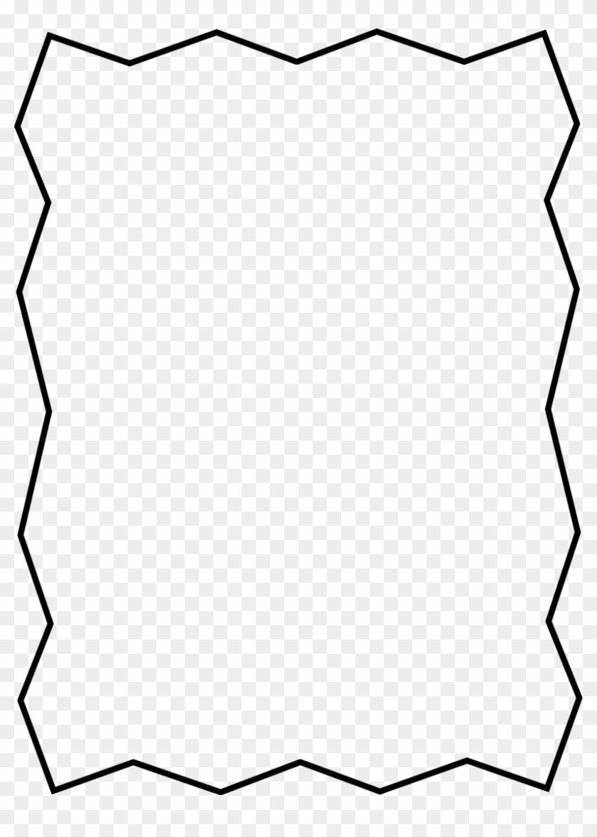 Zigzag Clipart - Dead Tree Vector #1656