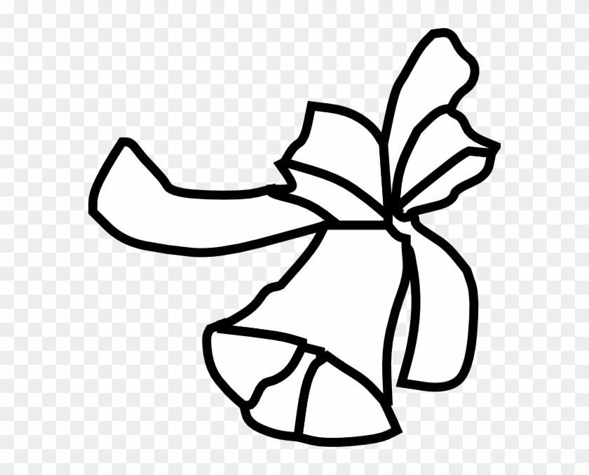Single Bell Outline Clip Art At Clker - Single Bell Outline Clip Art At Clker #1658