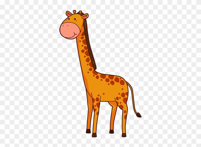 Giraffe Free To Use Clipart 3 Wikiclipart - Orange Giraffe Clipart #1665