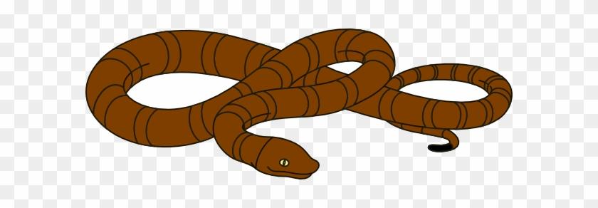 Snake Clipart Snakeclipart Snake Clip Art Animals - Clip Art Orange Snake #1680