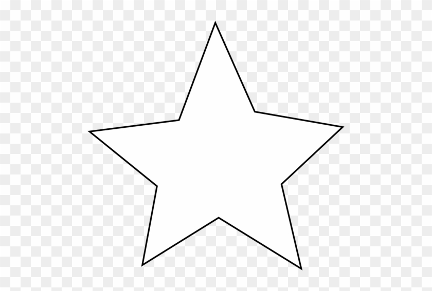 White Star Clipart #1677