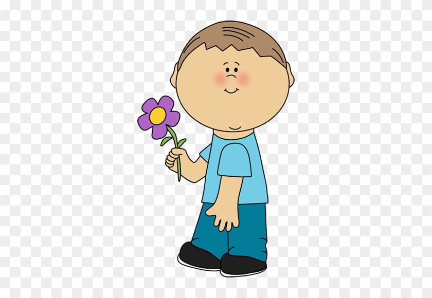 Boy Clipart Flower - Daughter In Law Happy Mothers Day #1704