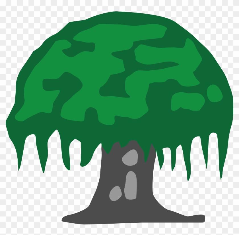 Medium Image - Banyan Tree Clipart Png #1724