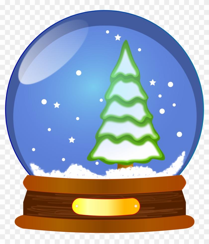 Open - Snow Globe Clipart #1733