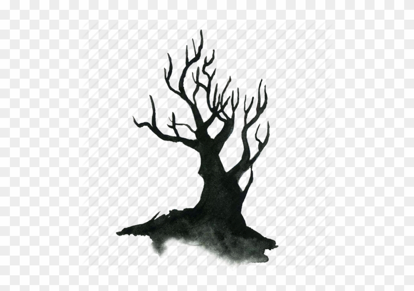 Creepy Tree - Haunted Tree Png #1744