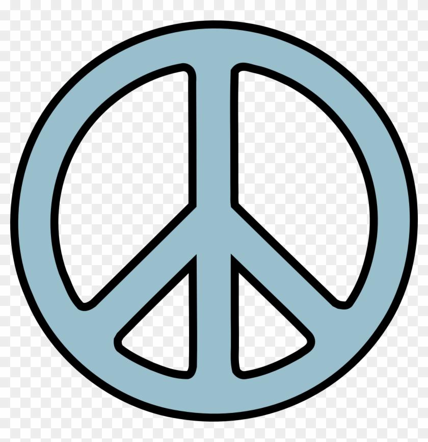 Peace Sign Clip Art Free - Peace Clipart Transparent #1749