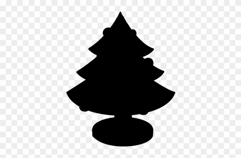Christmas Tree Clipart Silhouette - Christmas Tree Clipart Silhouette #180