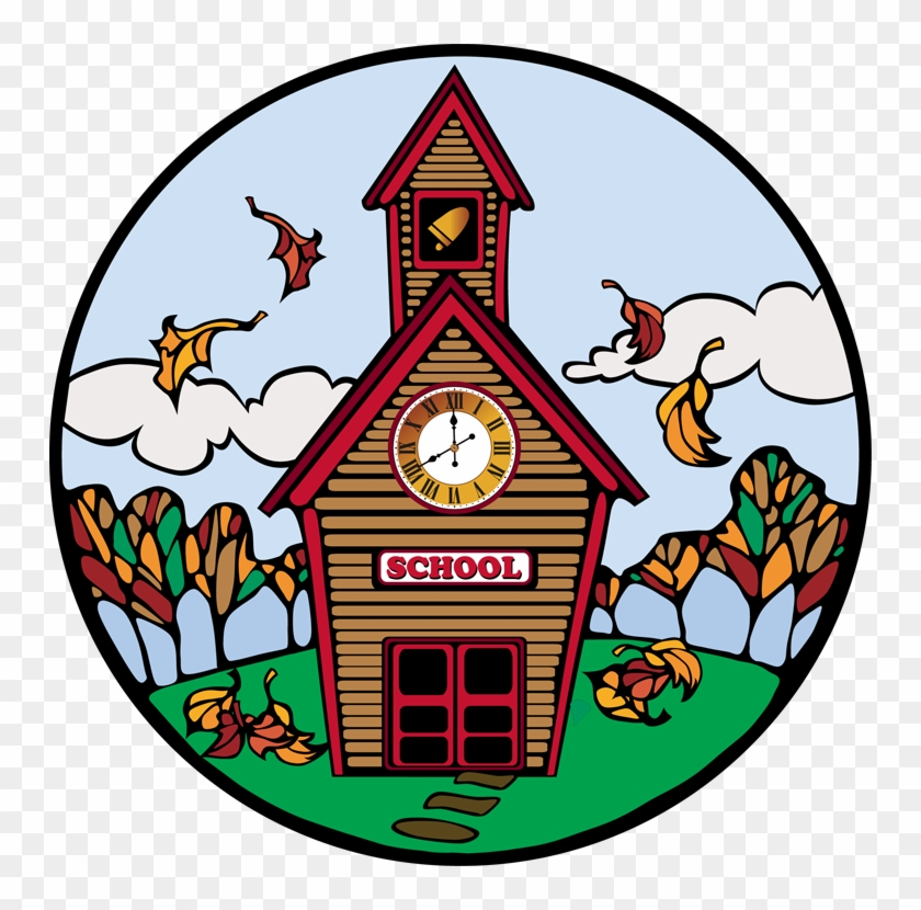 School Clipart Education Clip Art School For Teachers - Fall Back To School Clipart #1791