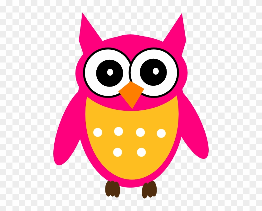 Pink Owl Clipart - Cute Cover Photos For Facebook #1783