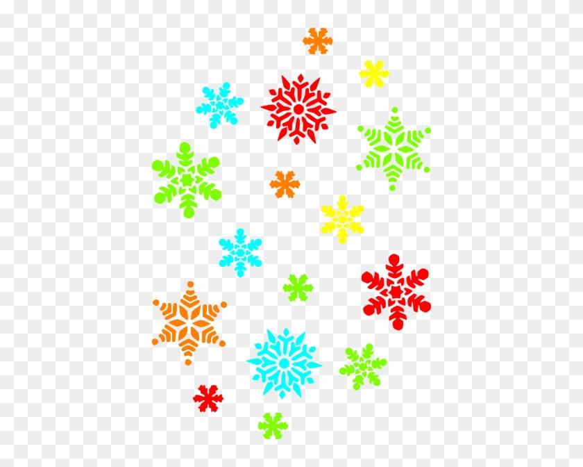 Christmas Clipart Snowflakes - Draw A Tiny Snowflake #1781