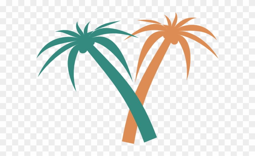 Palm Tree Svg Clip Arts 600 X 435 Px - Palm Tree Clip Art #1855