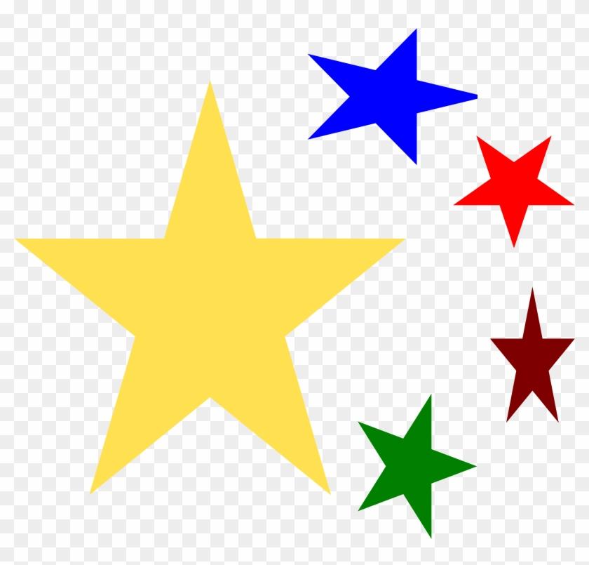 Christmas Star Clipart - Christmas Star Clip Art Png #1864