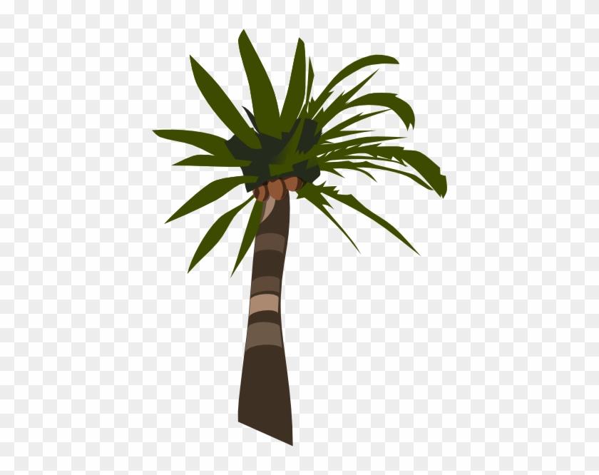 Palm Tree Clip Art At Clker - Palm Tree Clip Art #1867