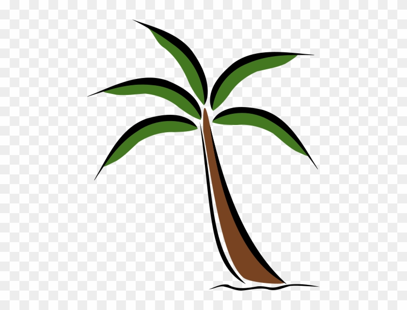 Palm Tree Silhouette Clipart Free Clip Art Images - Palm Tree Silhouette Clipart Free Clip Art Images #194