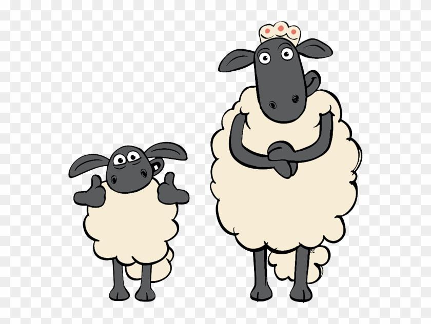 Sheep Cartoon Clipart Clip Art - Shaun The Sheep Timmy's Mum #1926