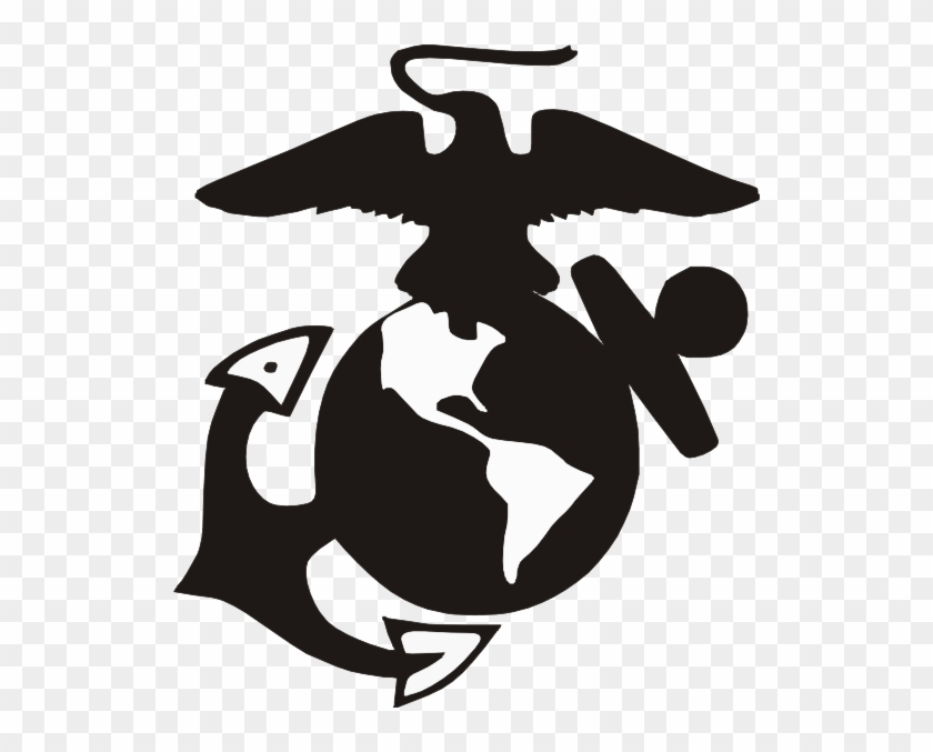 Usmc Emblem Clip Art - Eagle Globe And Anchor Svg #1942