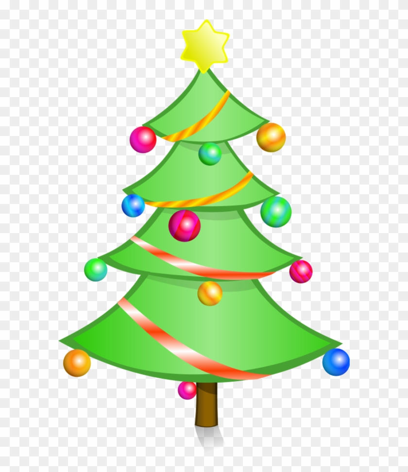 Bright Tree - Christmas Tree Png Clip Art #1937