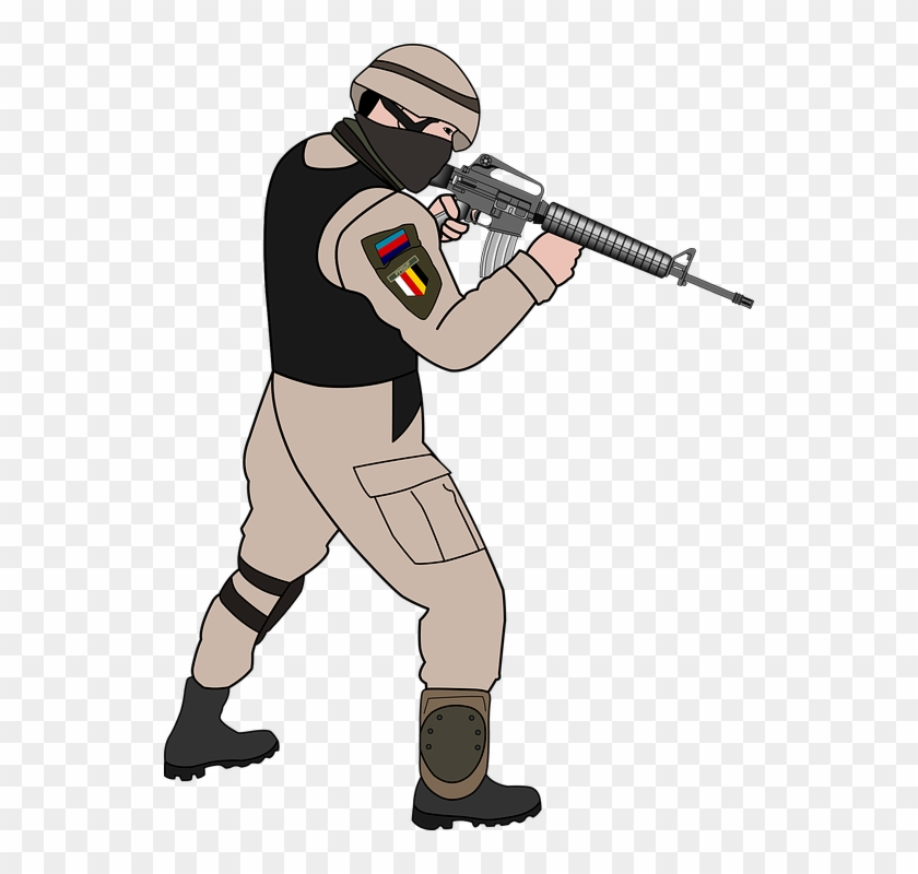 Cartoon Soldier Clip Art #1959