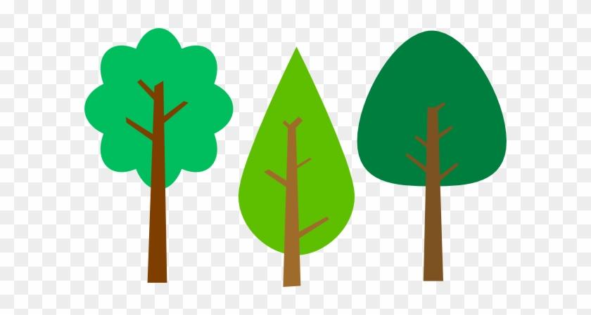 Summer Trees Clip Art At Clker - Tree #2033