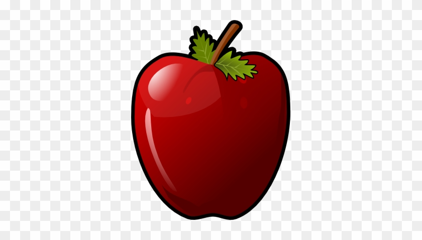 This Glossy Red Apple Clip Art Is Licensed Under A - Clip Art Pictures Of A Apple #2045