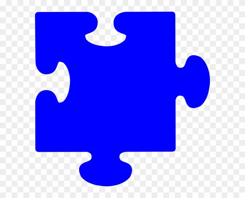 Blue Puzzle Piece - Light Blue Puzzle Piece #2028