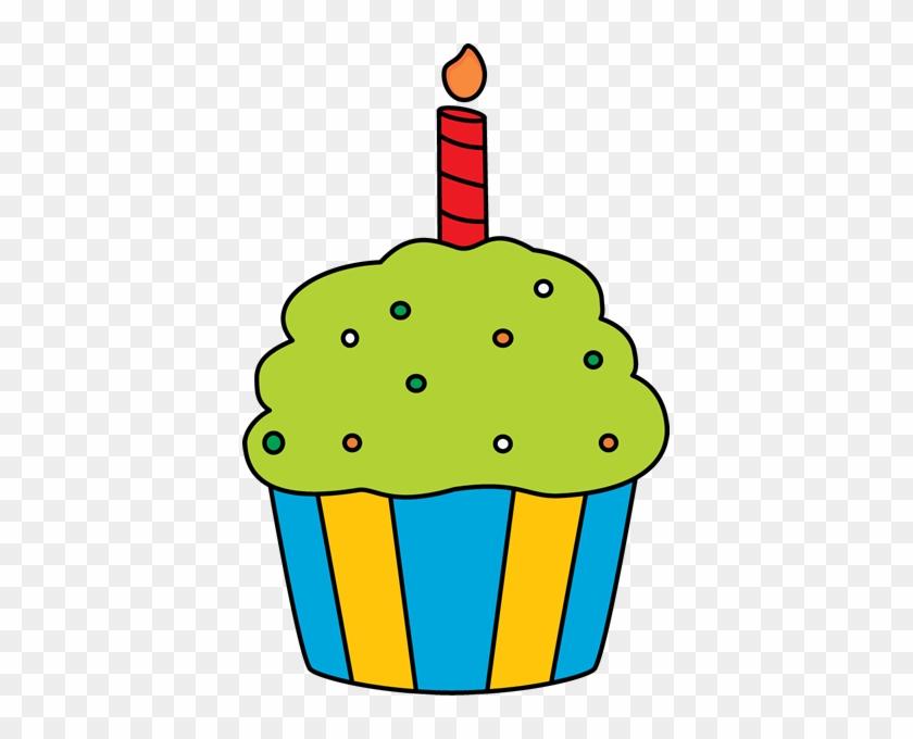 Birthday Cupcakee - Birthday Cupcake Clip Art #2067