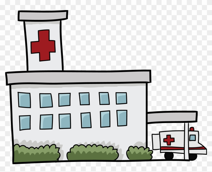 Hospital Pictures Clip Art Clipart Collection - Hospital Clipart Black And White #2094
