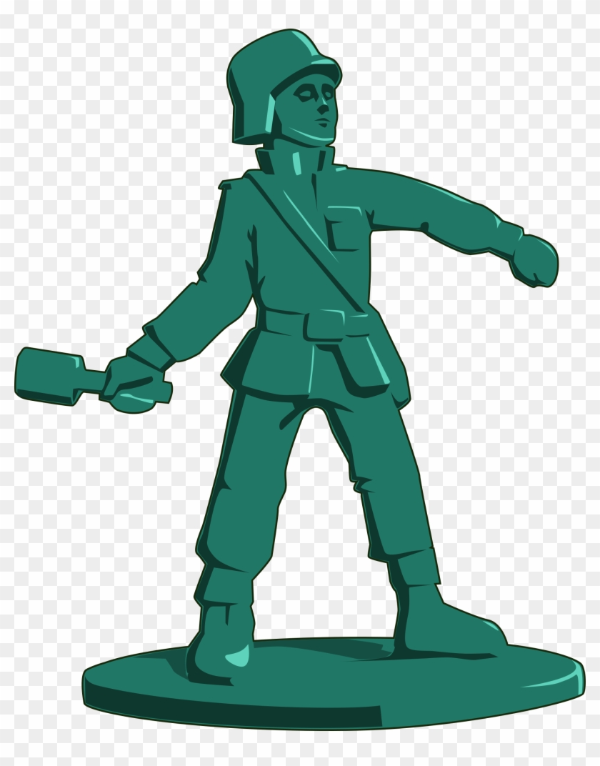 Military Clipart Toy Soldier - Toy Soldier Clipart #2093