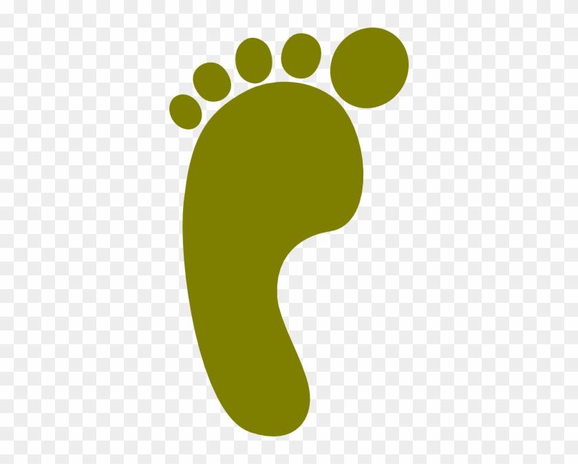 Footprint Clipart Bare - Footprint Clipart Bare #219
