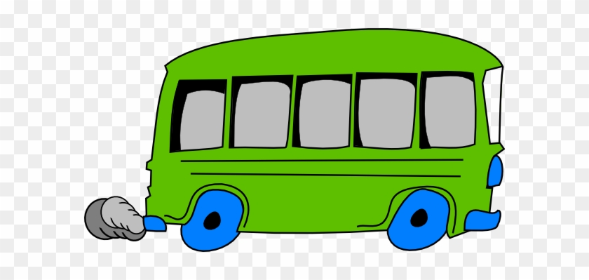 Free School Bus Clip Art Buses - Green School Bus Clipart #2204