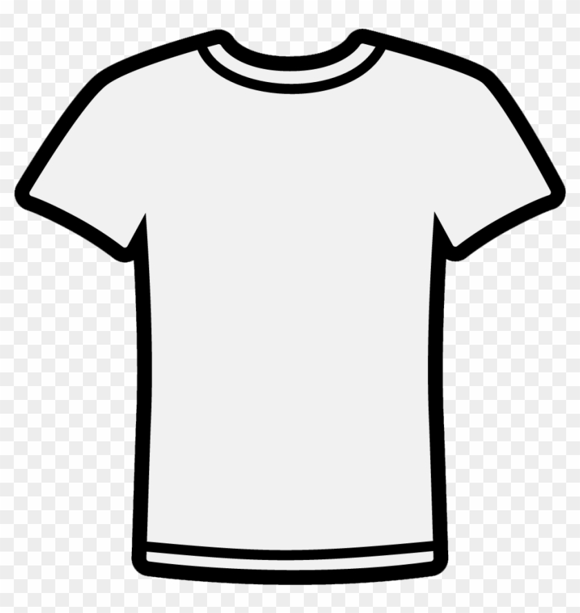 T Shirt Clipart Black And White #2247