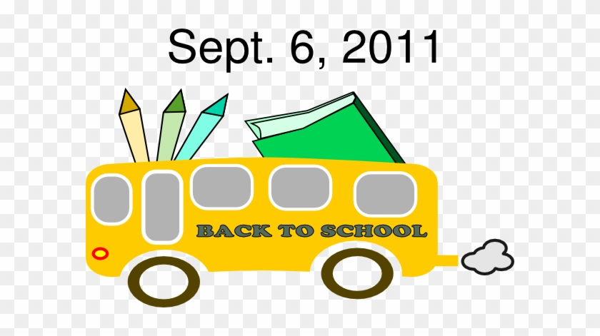 Back To School Clip Art At Clker - Back To School Clipart #2240