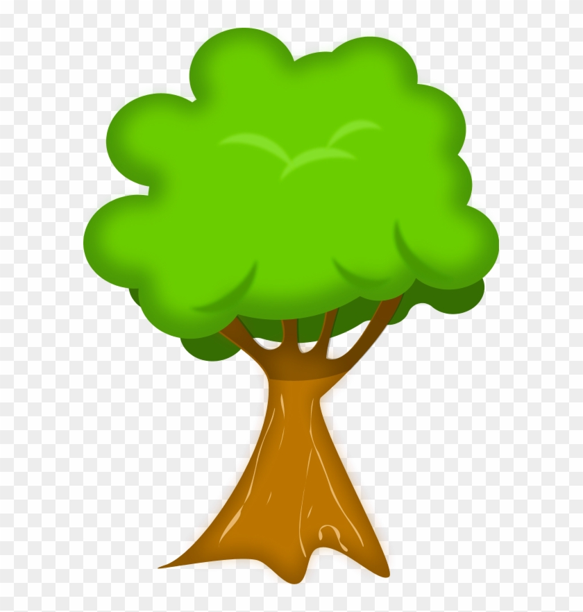 Vector Clip Art - Tree Clipart No Background #2254