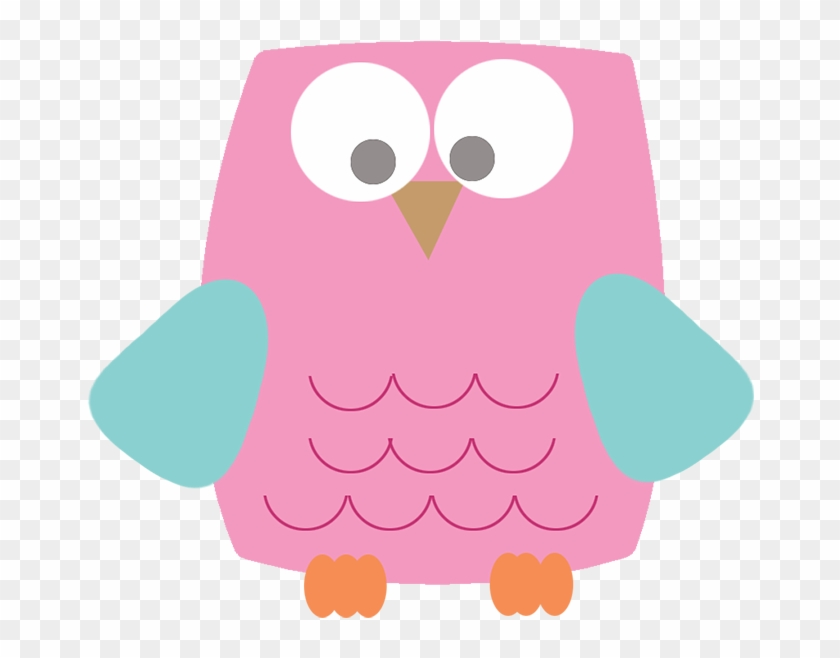 Owl Drawing Jpeg, Pink Square Owl Clipart Png - Owl Drawing Jpeg, Pink Square Owl Clipart Png #2288