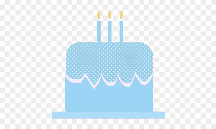 Blue Birthday Cake Clip Art - Birthday Cake Logo ...