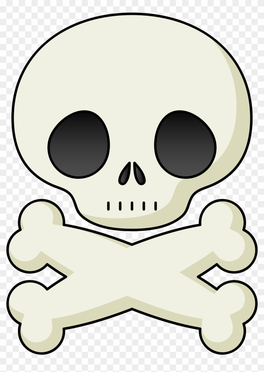 Onlinelabels Clip Art - Skull And Crossbones #2321