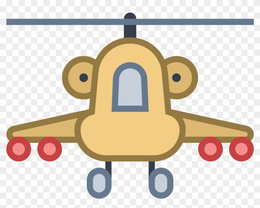 Military Helicopter Icon Png Clipart - Clip Art #2314