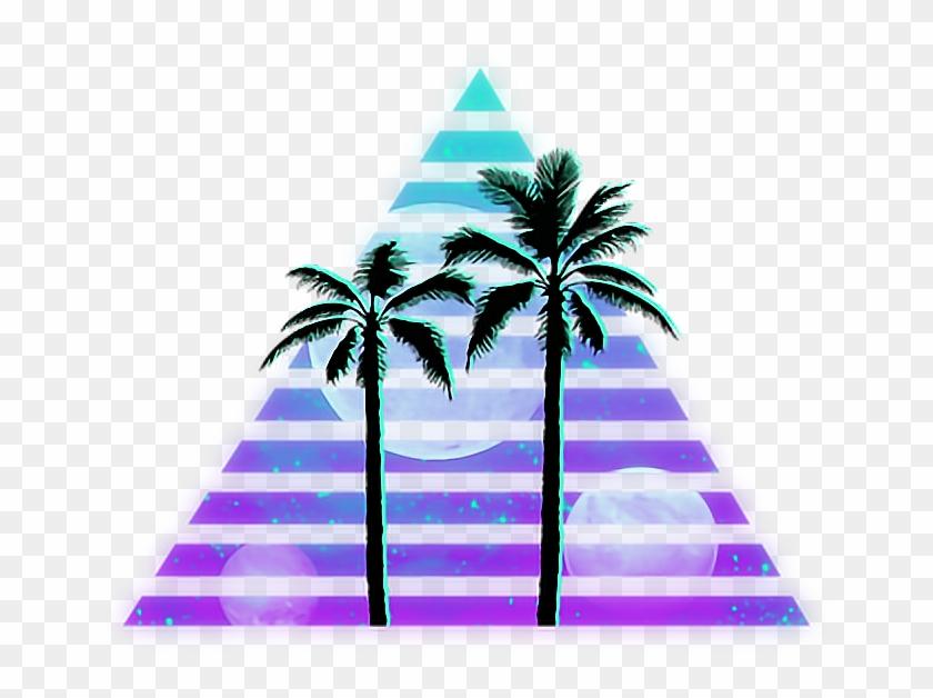 Palm Tree Silhouette Clip Art #2323