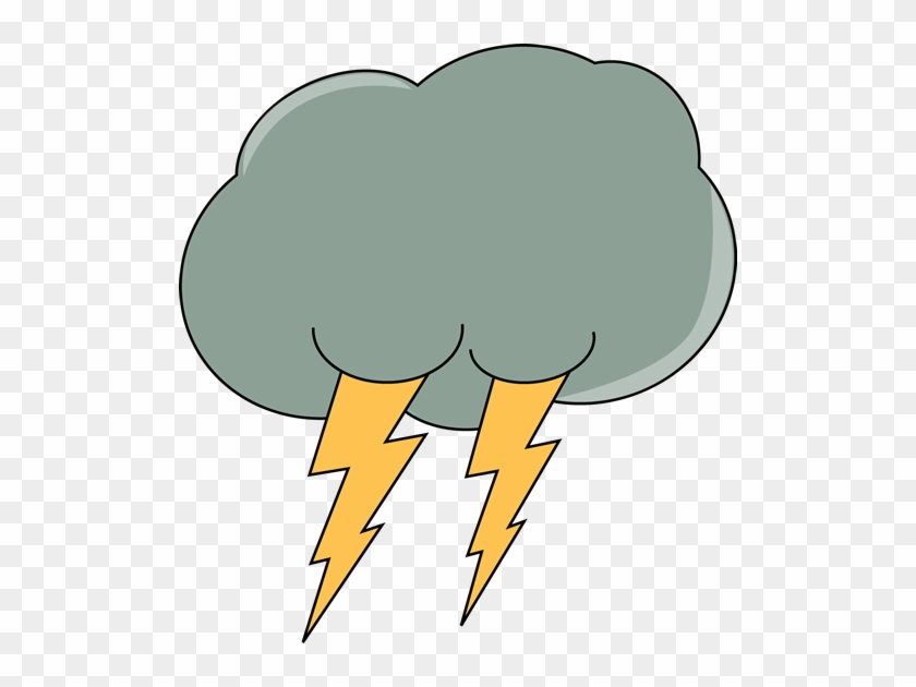 Clipart Info - Cloud With Lightning Clipart #2345