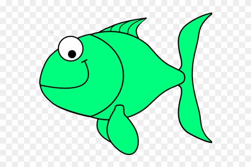 Green Fish Clip Art - Green Fish Clipart #2310