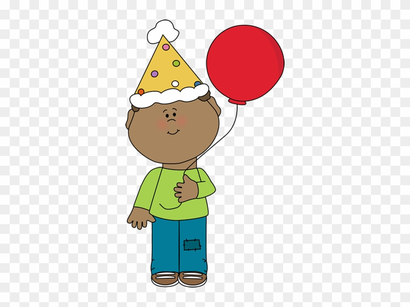Birthday Boy Clip Art Image - Pronouns Picture Cards #2324