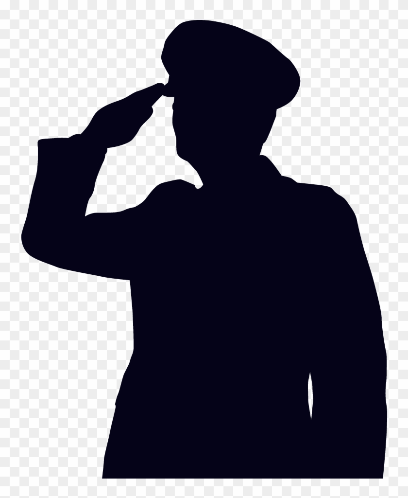 Soldier Salute Clipart - National Police Week 2018 #2351