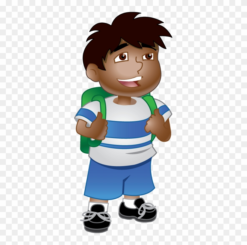 School Boy Clipart Clipart Image - Ready For School Clipart #2333