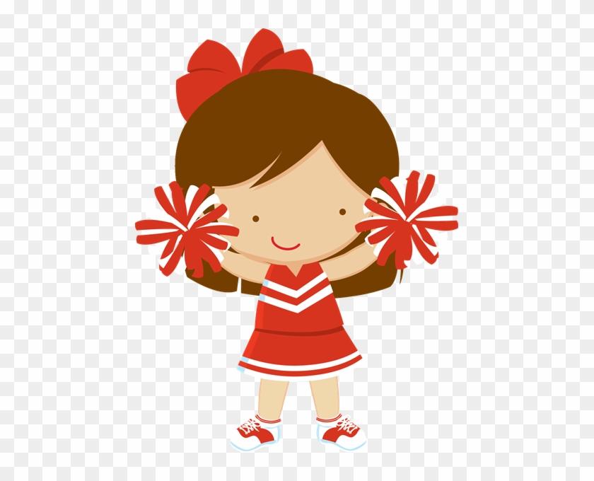Cheerleader Party, Png, Cubbies, Face Paintings, Clip - Lider De Torcida Desenho Png #2339