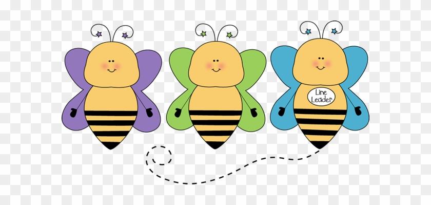 Bee Line Leader Clip Art - Line Leader Clipart #2402