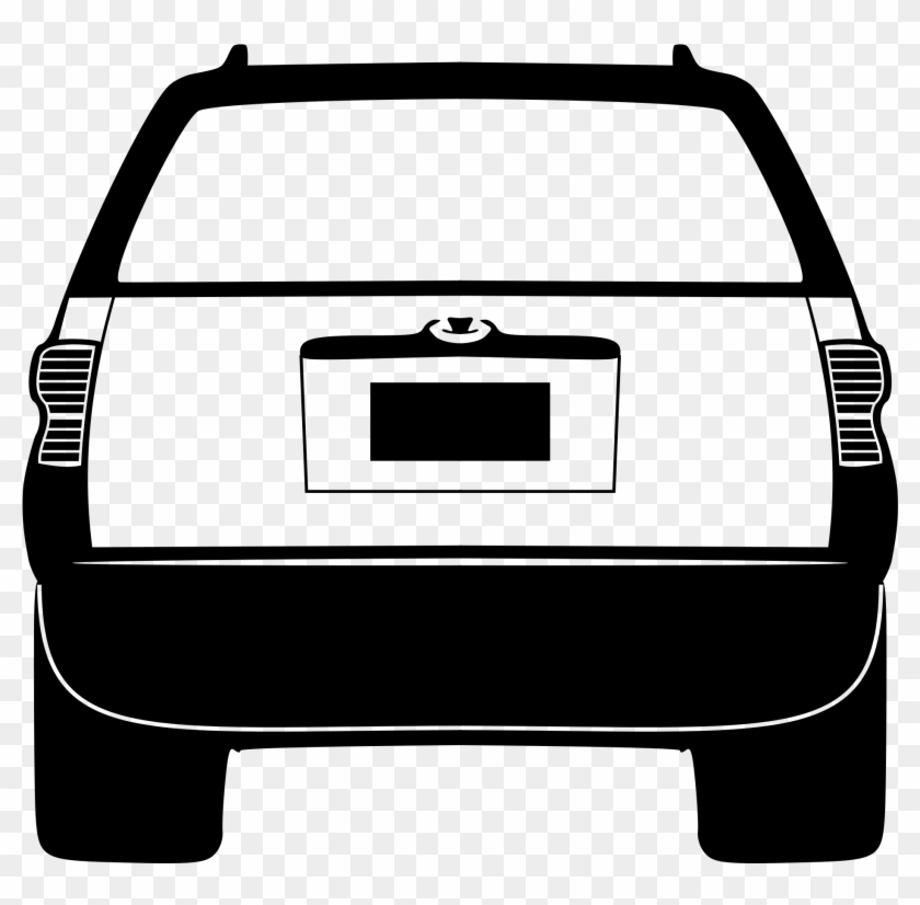 Back Of Cars Clipart Acura Car Clip Art At Clker Com - Animated Back Of A Car #2404