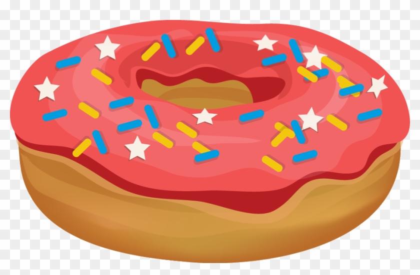 Free Clip Art Donut #2467