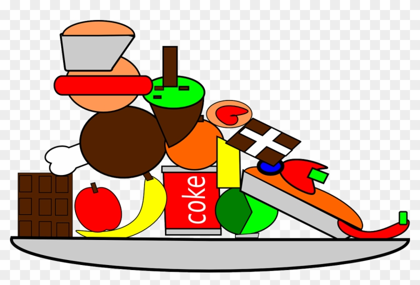 Free Food Clipart - Food And Water Cartoon #2455